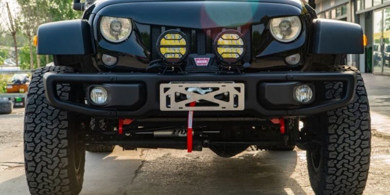 2019 Jeep Wrangler Rubicon Modification